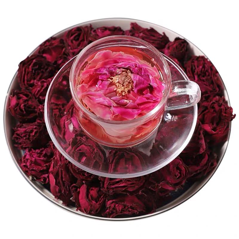 【冻干墨红玫瑰】花冠王 花青素 抗氧化 美白淡斑 养颜美容 买一送一同款