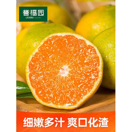 宜昌蜜桔新鲜橘子 水果当季无籽薄青皮蜜桔子橘子孕妇5斤带箱10斤