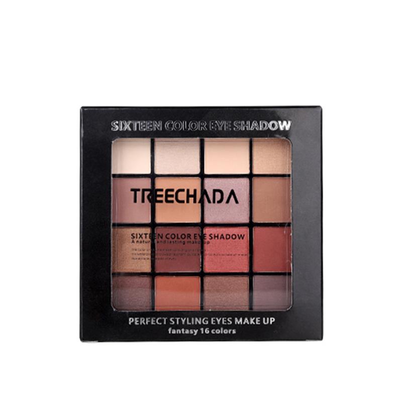 泰国Treechada 16色眼影 1盒